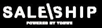Saleship logo white
